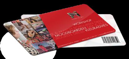 Gift Card moodboarden