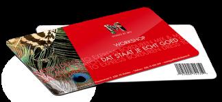 Gift Card workshop dat staat je echt goed